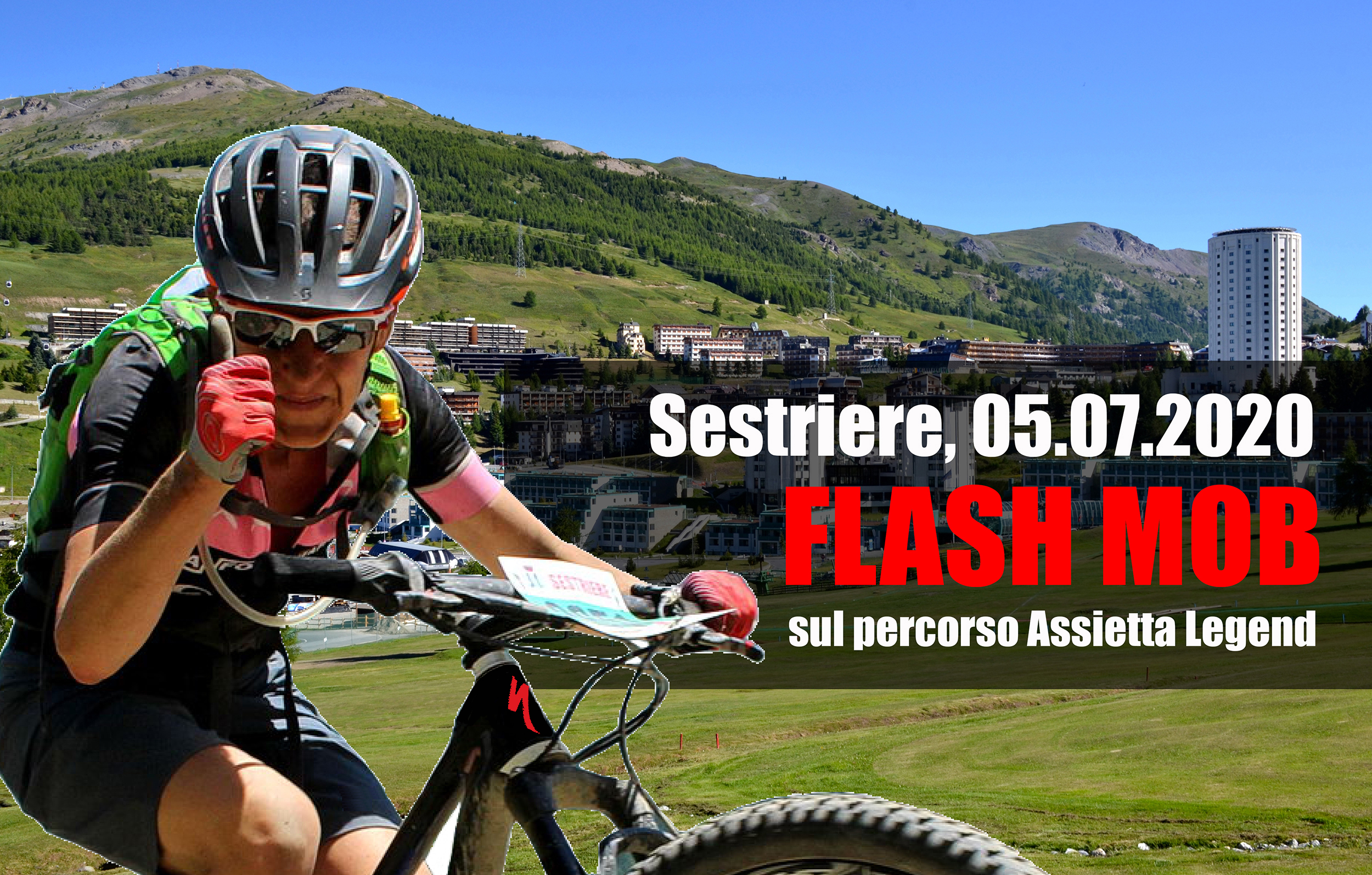 FLASH MOB SUL PERCORSO DELL'ASSIETTA LEGEND!